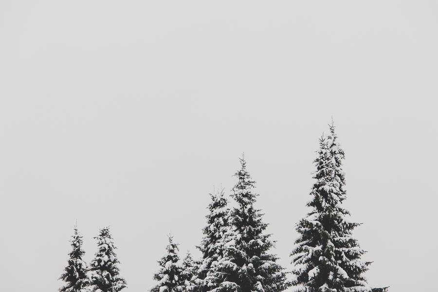 Zimowe niebo