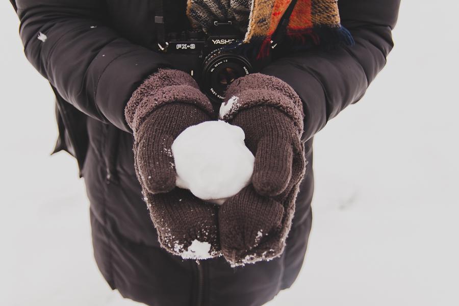 Pierwsza śnieżka