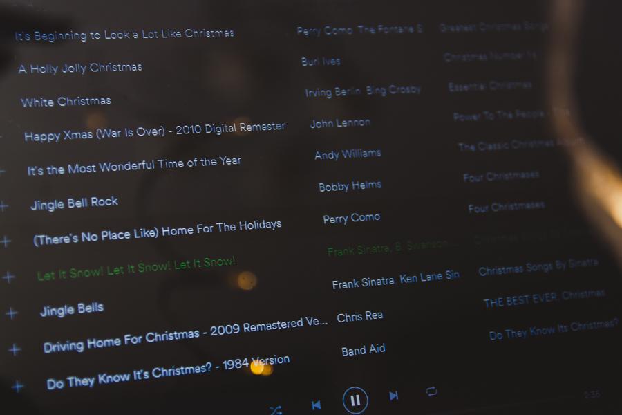 10 ulubionych piosenek świątecznych