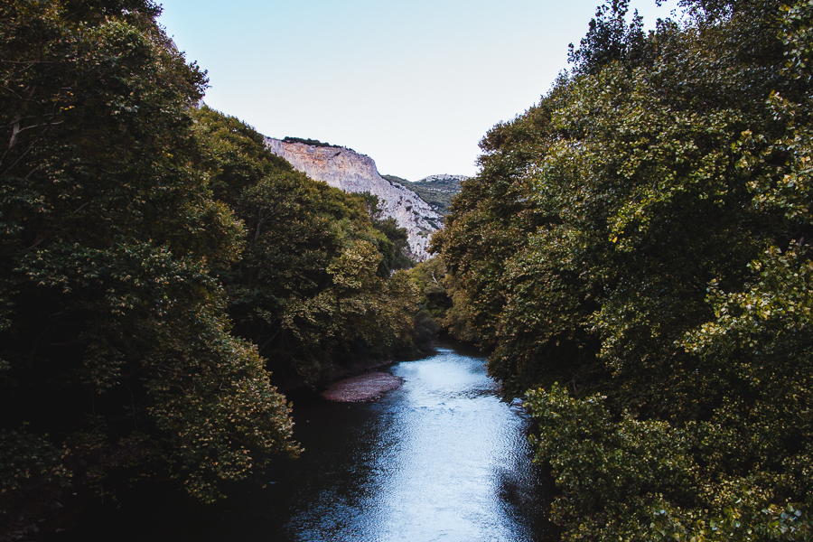 Rzeka Pinios