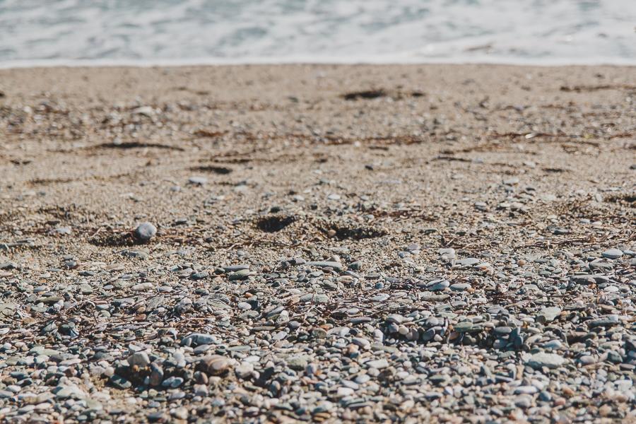 Kamyki wyrzucone przez morze
