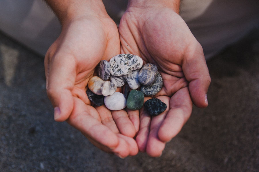 Zbieraliśmy kamienie