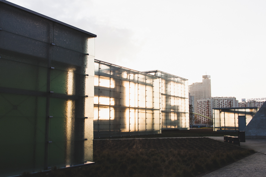 Jesienne słońce w Strefie Kultury
