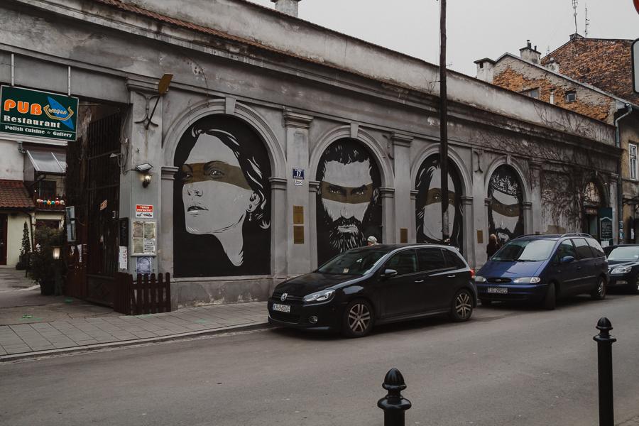 Murale na Kazimierzu