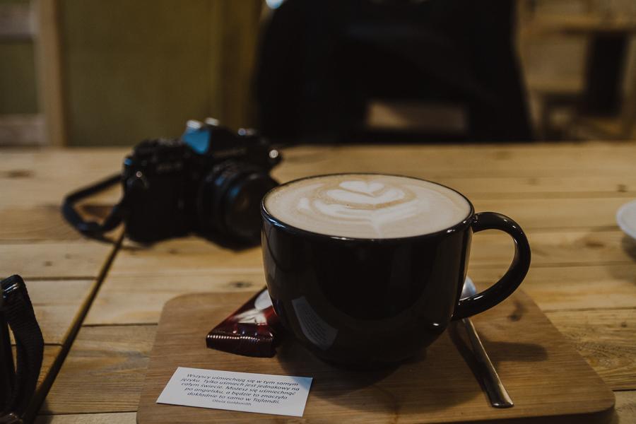 Korzenna latte