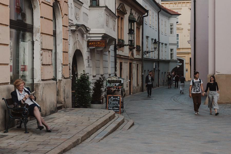 Uliczki w Bratysławie