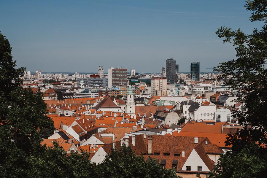 Widok na miasto z zamku