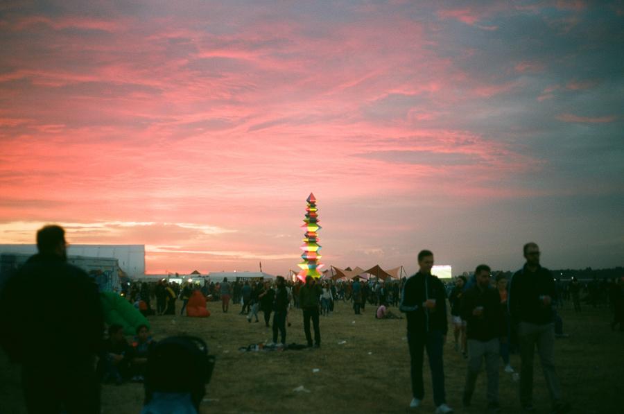 Open'er Festival totem