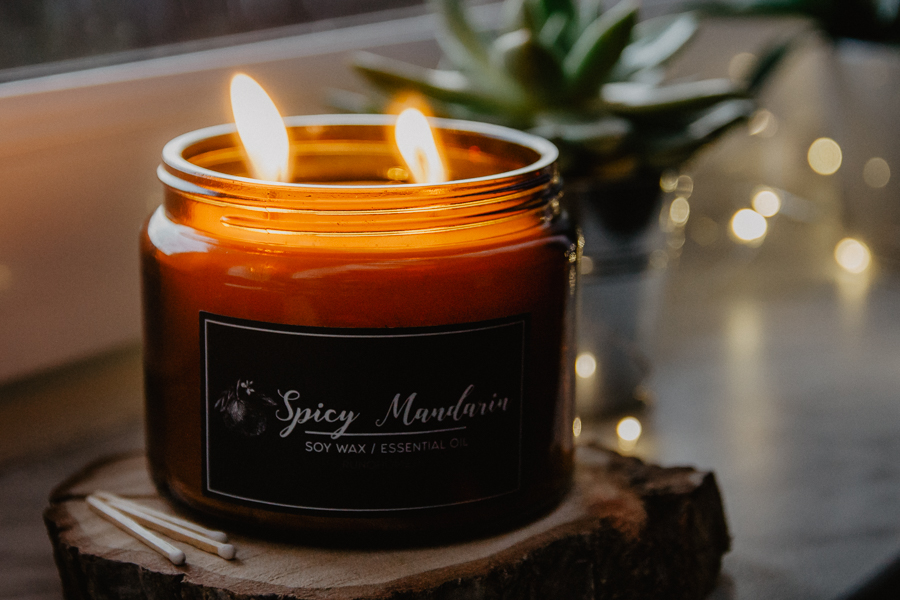 Świeca Spicy Mandarin