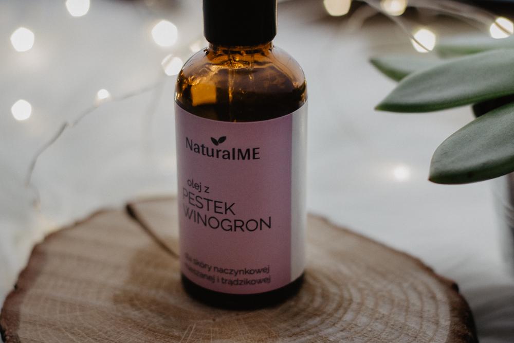 Olej z pestek winogron NaturalME