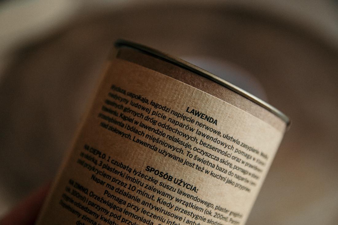Lawendowa herbata regenerująca