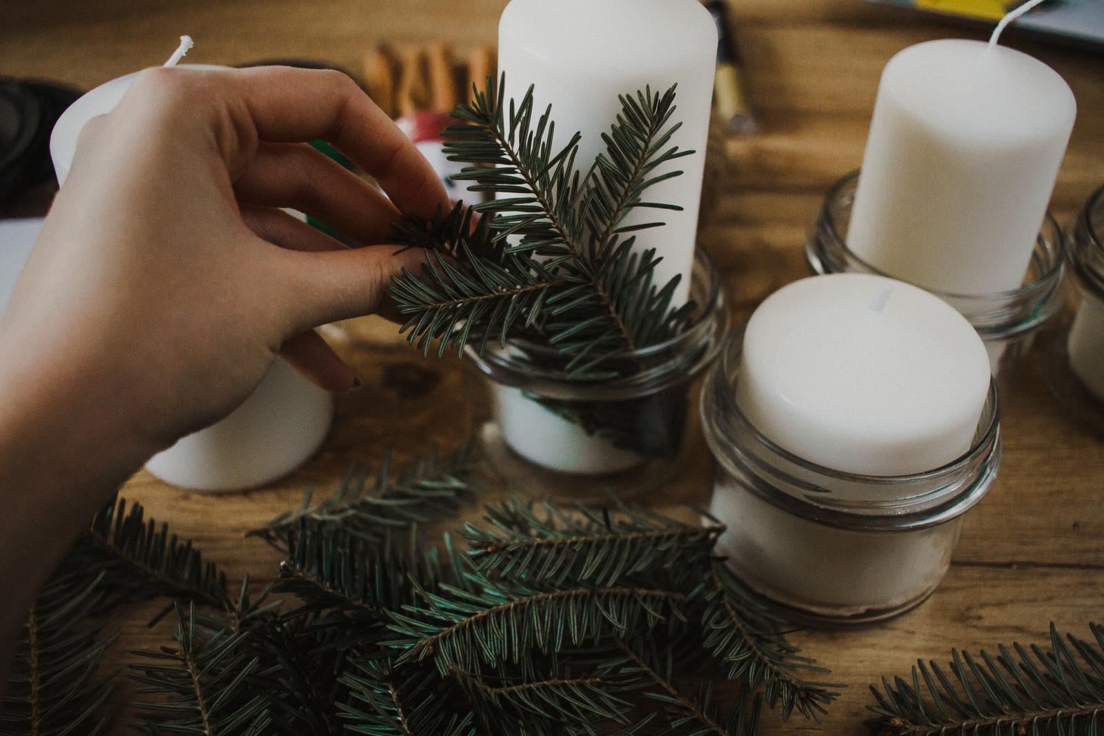 Przygotowanie świecznika